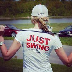 Just Swing!  Loris Golf Shoppe.................