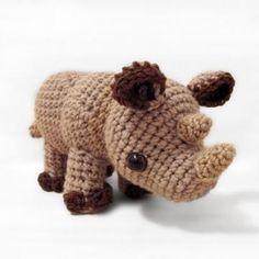 Little Rhylie the Rhino amigurumi pattern by Sweet N' Cute Creations