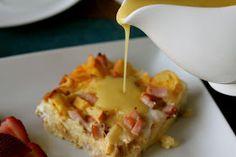 Mrs. Schwartz's Kitchen: Eggs Benedict Bake