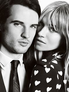 Jayeon Kim's pick: A British love story - the Burberry A/W13 campaign starring Sienna Miller and Tom Sturridge
