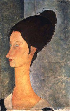 Amedeo Modigliani - Jeanne Hébuterne, (1918)