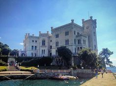 Adrian28Fly — #miramare #castle on the #golf of #trieste...