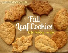 Fall leaf cookies- it would b fun to paint these ( with edible paint of course)