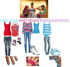 """Omg Girlz Outfits!"" by dolltaniya ❤ liked on Polyvore"