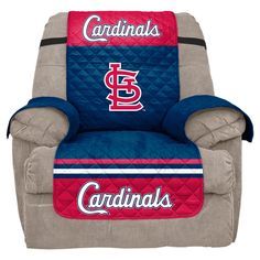 MLB St. Louis Cardinals Recliner Slipcover, Durable