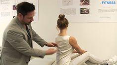 Welche Übung hilft bei Verspannungen zwischen den Schulterblättern?