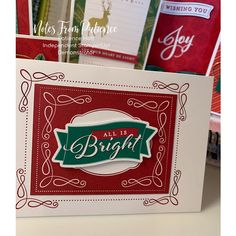 Stampin Up Christmas, Christmas In July, Christmas Cards, Holiday, Stampin Up Catalog, December Daily, Stamping Up, Stampin Up Cards, Card Making