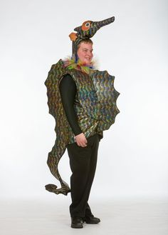 Seahorse Costume-I like the style-maybe not necessarily the fabric color choice Little Mermaid Play, Little Mermaid Costumes, Little Mermaid Birthday, Little Mermaid Parties, Seahorse Costume, Fish Costume, Horse Costumes, Adult Costumes, Woman Costumes