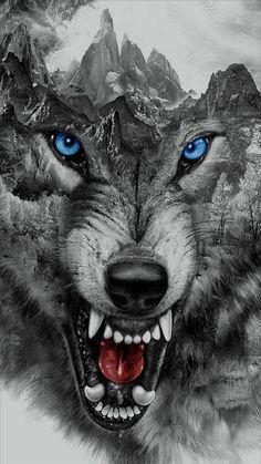 Lobo Wallpaper, Animal Wallpaper, Mobile Wallpaper, Wolf Tattoo Design, Tattoo Designs, Wolf Tattoo Sleeve, Sleeve Tattoos, Tattoo Wolf, Wolf Pack Tattoo