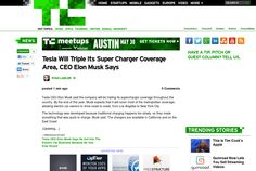 http://techcrunch.com/2013/05/29/tesla-will-triple-its-super-charger-coverage-area-ceo-elon-musk-says/ ... | #Indiegogo #fundraising http://igg.me/at/tn5/