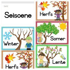 Preschool Weather, Free Preschool, Preschool Learning, Preschool Activities, 4 Year Old Activities, Seasons Activities, Classroom Activities, Grade R Worksheets, Preschool Worksheets