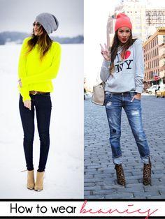 The Fashion Enthusiast #beanies