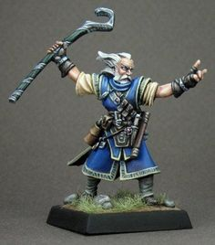 Pathfinder Miniatures (Ezren, Wizard 60002) RPG 25mm Minis