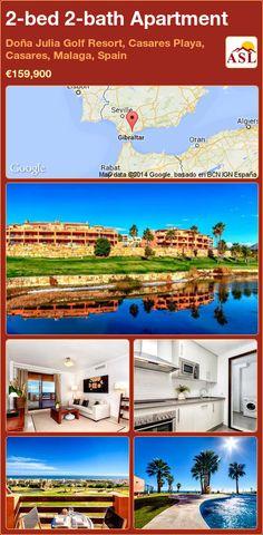 2-bed 2-bath Apartment in Doña Julia Golf Resort, Casares Playa, Casares, Malaga, Spain ►€159,900 #PropertyForSaleInSpain