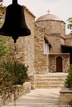 Religion in Cyprus is expressed through the many monuments dedicated to prayer and devotion! South Cyprus, Akrotiri And Dhekelia, Travel Around The World, Around The Worlds, Greece Tours, Cyprus Island, Temple, Asia, Island Nations