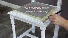 Möbel mit Farbe in Shabby Chic Objekte verwandeln