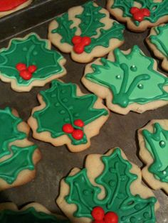 Christmas cookies...no recipe, just decorating ideas.