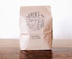 Custom Stamped Coffee Bag