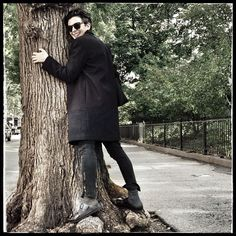 So happy to be back in New York I'm hugging the trees  #Padgram
