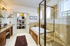 Master Bathrooms With Closets Design, Pictures, Remodel, Decor and Ideas - page 6