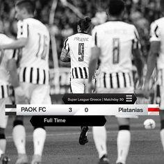 #PAOKPLAT 3-0 #SuperLeage