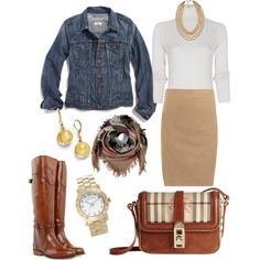 """Work"" by juli67 on Polyvore"