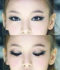 Kara   Goo Hara eye makeup 구하라 카라