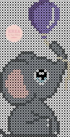 Små fødselsdags elefanter – Anja Takacs Melty Bead Patterns, Pearler Bead Patterns, Beading Patterns, Pokemon Perler Beads, Diy Perler Beads, Hamma Beads Ideas, Hama Mini, Mini Hama Beads, Hama Beads Design
