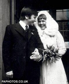 Judi Dench and Michael Williams 1971 #Wedding
