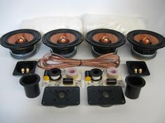 Build your own speakers with our DIY Speaker Kits. Each kit contains all the parts for 1 pair of speakers. Just follow the box design(inclu...