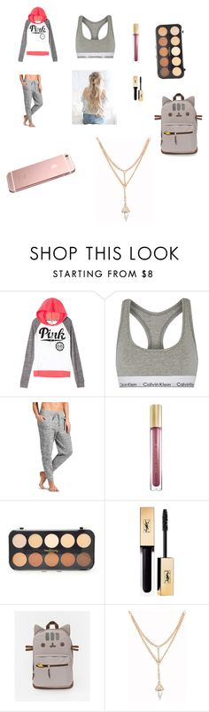 """""""first day of school 7 th grade option 2"""" by wins04 on Polyvore featuring moda, Calvin Klein Underwear, Athleta, Max Factor, Forever 21 y Yves Saint Laurent"""