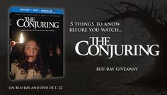 The Conjuring Blu-Ray Giveaway #Free #Giveaway #Contest #TheConjuring