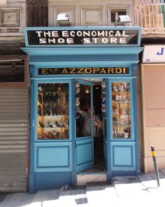 Shoe shop in Valletta....My mum used to buy me shoes from this shop ! Love it ! LS