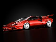 3D Model - Lamborghini Countach 5000 QV