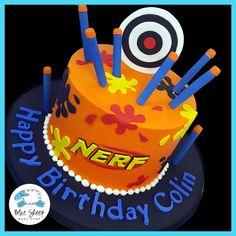 nerf birthday cake nj