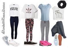 συνολακια για το σχολειο - Αναζήτηση Google Junior Outfits, Street Style, Polyvore, Clothes, Google, Ideas, Fashion, Outfits, Moda