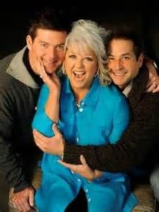 Paula Deen with jamie and bobby.....I dont care what she said 25 freakin years ago. Love her...