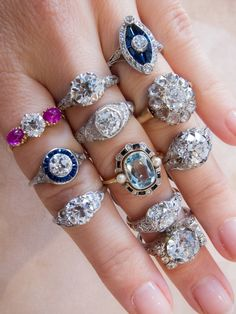 Vintage engagement rings from Victorian, Edwardian, and Art Deco  – Erstwhile Jewelry