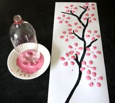 Bottle Tree Canvas