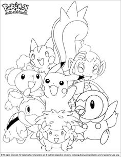Then color this Pokemon printable page. A fun coloring activity for everyone! Pokemon printable page. Find and print your favorite cartoon coloring pages and sheets in the Coloring Library free! Star Coloring Pages, Cartoon Coloring Pages, Printable Coloring Pages, Free Coloring, Coloring Pages For Kids, Coloring Books, Pokemon Coloring Sheets, Pikachu Coloring Page, Pep Rally