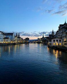 Swiss Travel, Switzerland, Night, Beautiful