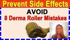 Avoid 8 Derma Roller Mistakes to Prevent Skin Damage or Ugly Micro Needling Side Effects - Part II Stretch Mark Removal, Stretch Marks, Derma Roller Results, Best Facial Cleansing Brush, Skin Needling, Skin Brushing, Prevent Wrinkles, Wrinkle Remover