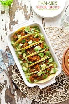 Yum! These tacos are packed with flavor :-)