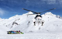 Ready for some heliski on Mont Blanc!