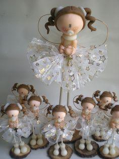 Hadas bebé con rosario ideal bautismo