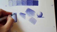 How To Ballpoint Pen   The Technique - YouTube