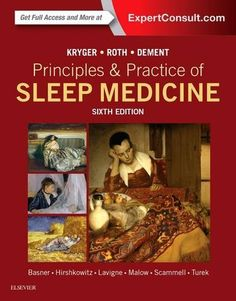 Principles and Practice of Sleep Medicine, 6e #book #health http://www.healthbooksshop.com/principles-and-practice-of-sleep-medicine-6e/ For nearly 30 years, Dr. Meir Kryger's must-have guide to sleep medicine has been  the gold standard in this fast-changing field . This essential, full-color reference includes more than 20 unique sections and over 170 chapters covering every aspect of sleep disorders, giving you  the authoritative guidance you need to offer your patients the best p..