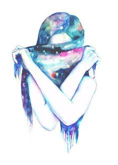 BGM : Lana Del Rey - Summertime Sadness 몽환적인 일러스트... 라나 델 레이의 노래와 함께♬ 난...