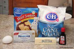 gooey butter cookies ingredients