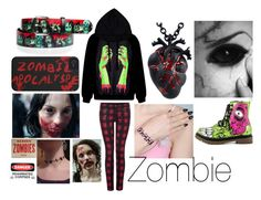 """""""Zombie"""" by fluffydoggy ❤ liked on Polyvore featuring Dex and Iron Fist"""